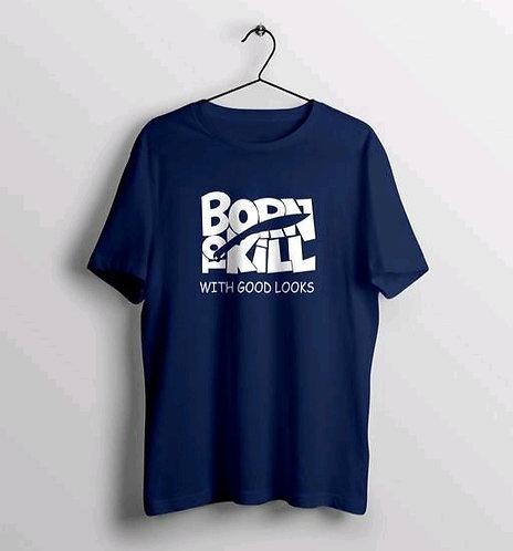 Trendy Bodyskill Text Printed T-shirt
