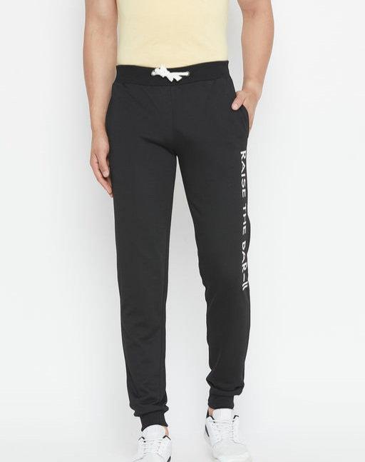 Austin wood Men's solid slim fit Track Pant