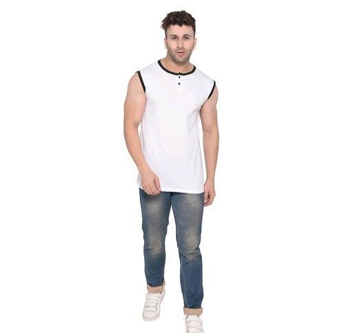 Tfurnish Round Neck Sleeveless T-shirt