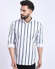 rosso_fem_white_striped_regular_fit_shir