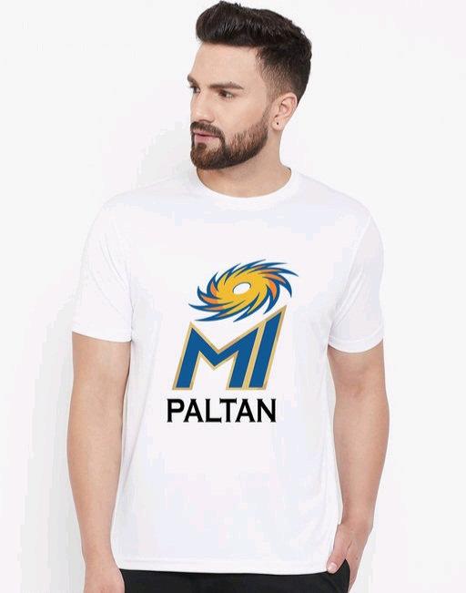 Wesquare Roundneck Half sleeve MI Paltan Printed T-shirts