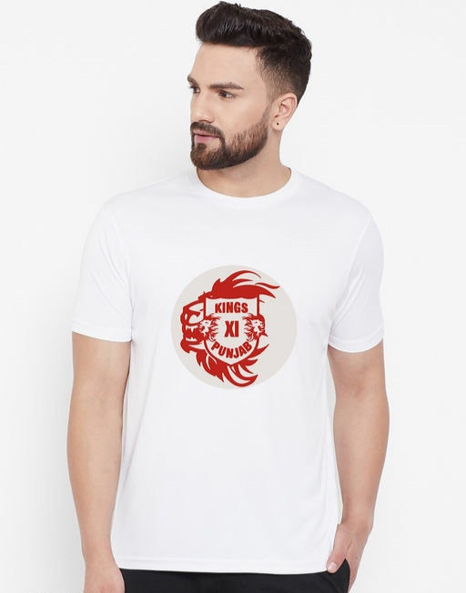 Wesquare Roundneck Half sleeve KXIP Printed T-shirts