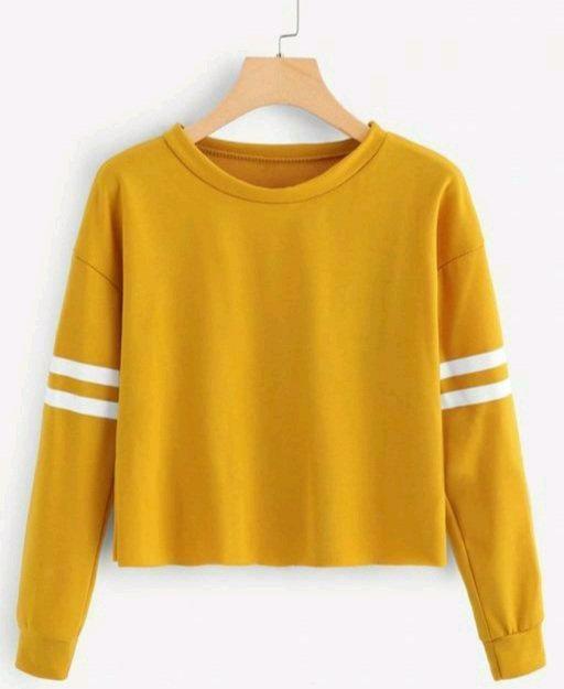 Trendy Women Yellow T-shirt