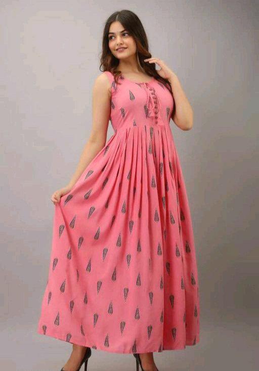 Adrika Petite Pink Kurtis
