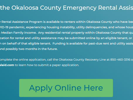 Rent and Utility Assistance is Available for Okaloosa Families Impacted by COVID