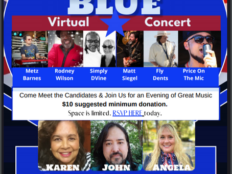 Virtual Concert! Join Us August 19th @ 7pm