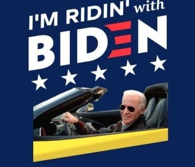 Ridin' With Biden Car Caravan!!