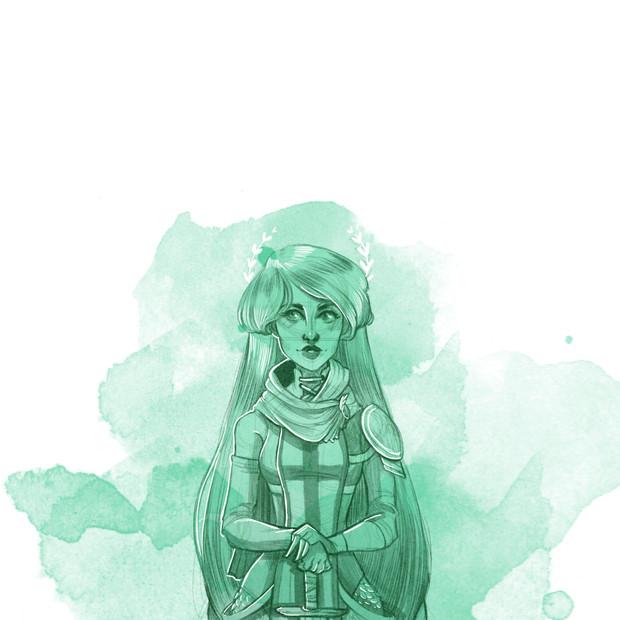 Pyrra in Green