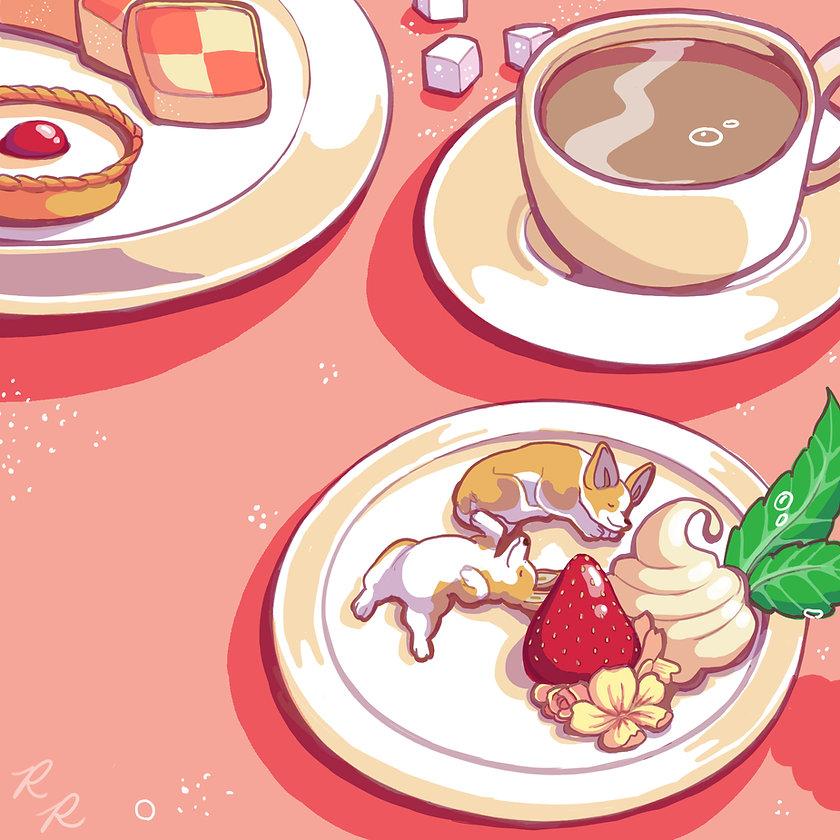 Corgi illustration pink.jpg