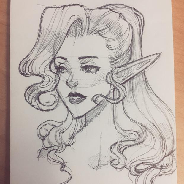 Cavalier Sketch