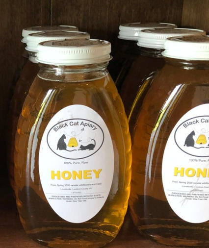 1 Pound Honey Jars