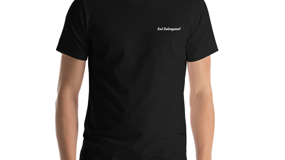 Sad Delinquent embroidered Unisex T-Shirt