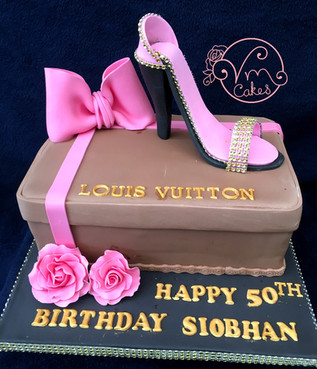 Posh shoes n box theme