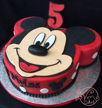 Mickey Mouse shape theme