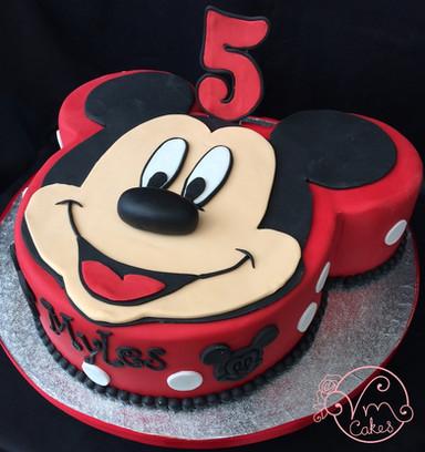 Mickey Mouse shape theme