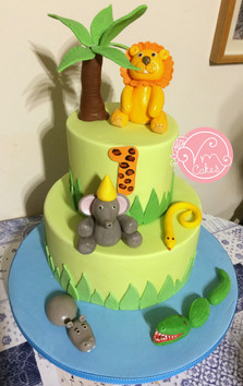 2-Tier Anmials theme