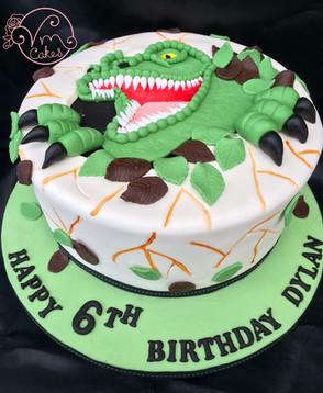 3D T-Rex theme
