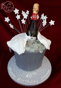 Prosecco w/ice theme