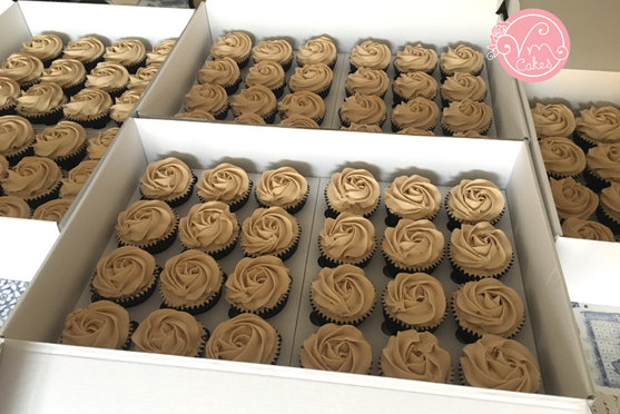 96 Cupcake swirl order