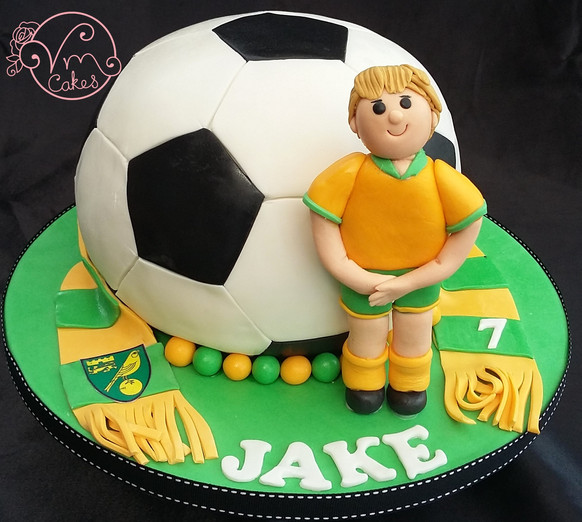Sports Celebration Cakes in Norwich