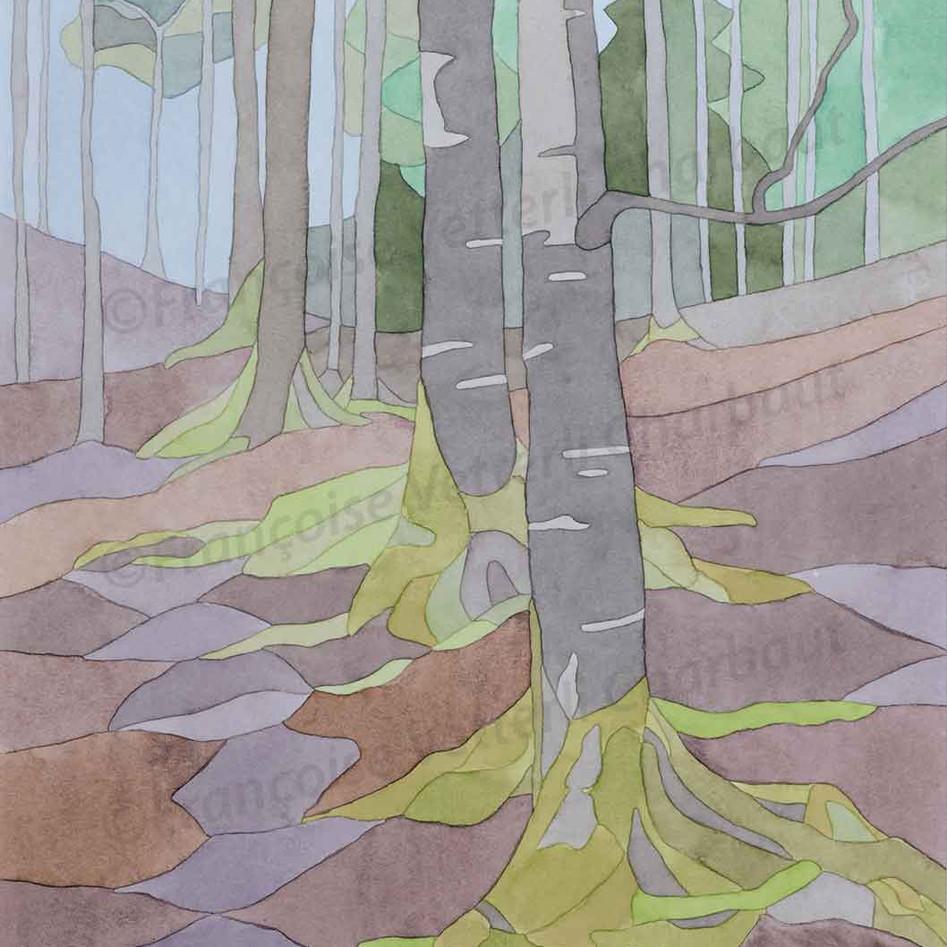 Si tu vas dans les bois