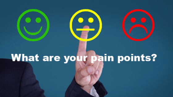 Pain areas of small business