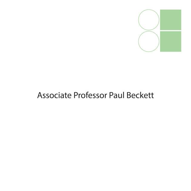 Associate Professor Paul Beckett