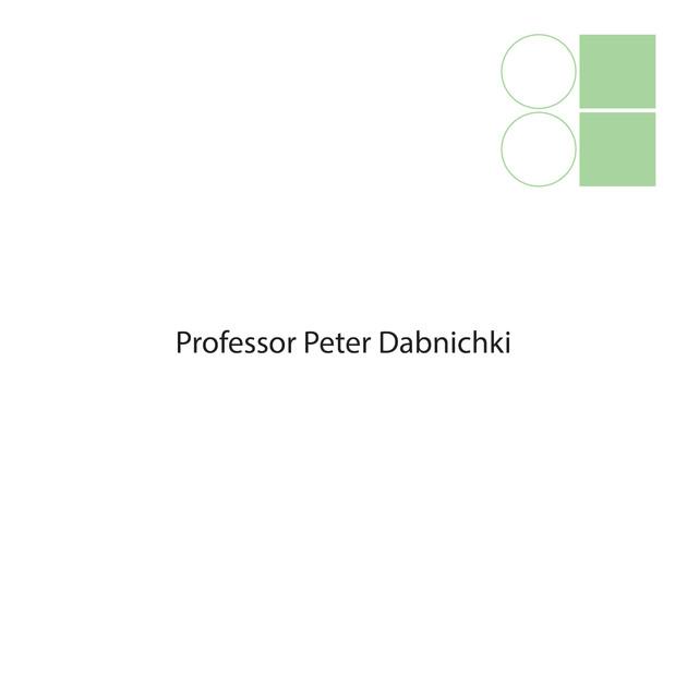 PROFESSOR PETER DABNICHKI