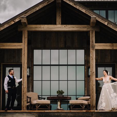 Cody + Lacy | Gallatin Gateway, MT | Wedding Sneak Peek