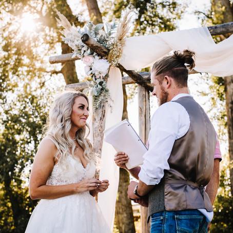Joe + Lisa | 45 Barn | Garrison, MT | Wedding Sneak Peek