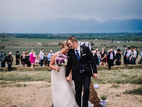 Conner + Jessi | Gallatin Gateway, MT | Wedding Sneak Peek