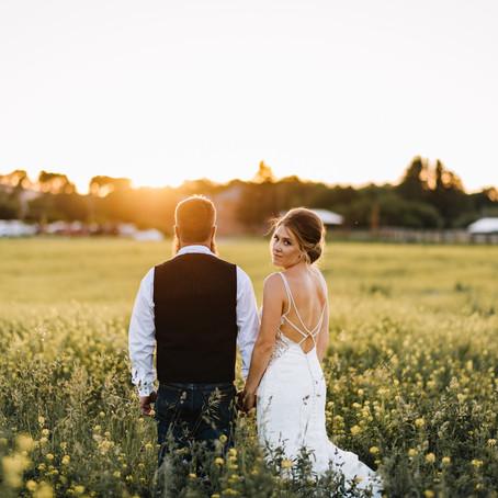 Jesse + Lindsey | Winston, MT | Wedding Sneak Peek