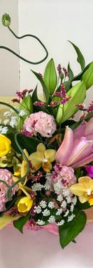 お祝い花アレンジメント4豊川花屋