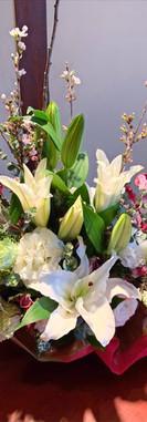お祝い花アレンジメント2豊川花屋