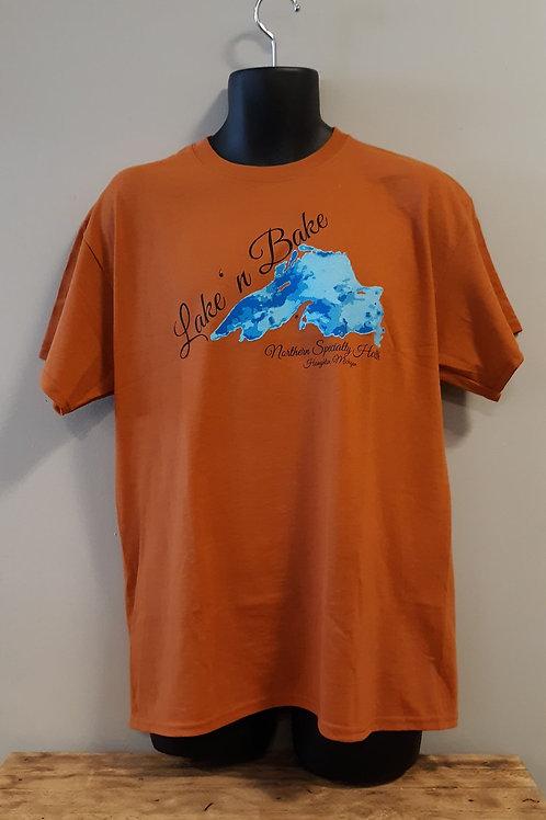Lake n' Bake t-shirt Style 1