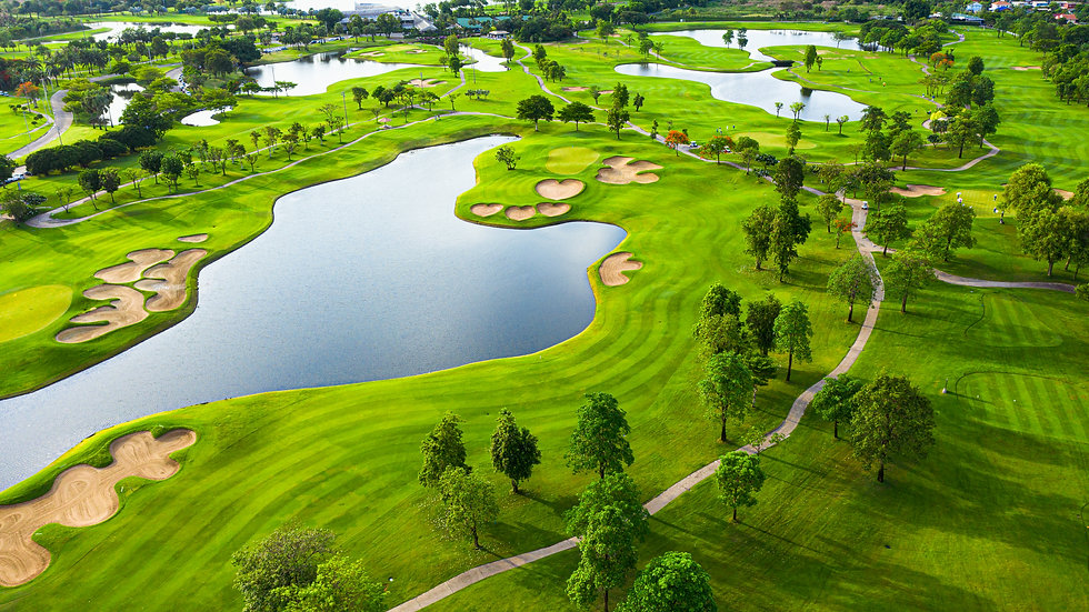 aerial-view-golf-field-landscape-with-su