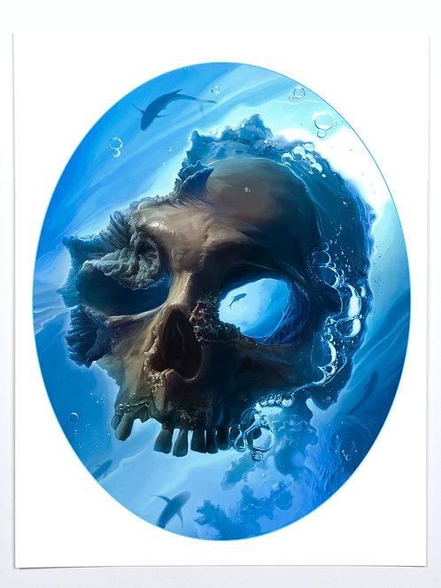 """Dead Waters (11 x 14"""")"""