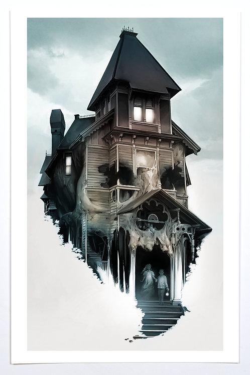 "Haunted Past (11 x 17"")"