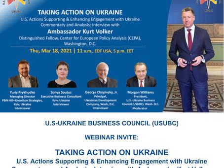 Interview with US Ambassador Kurt Volker