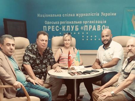 Продолжение презентации проекта WELCOME TO UKRAINE