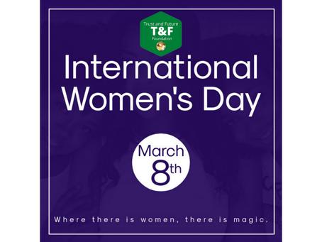 8 марта - Международный женский день.