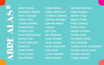 Estarei participando do Abre Alas no Rio de Janeiro - Galeria Gentil carioca
