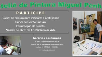 Cursos de Pintura Miguel Penha