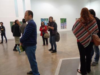 abertura da exposição no MARCO