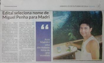 Feliz por mais uma conquista - em Fevereiro estaremos na ARCO Madri