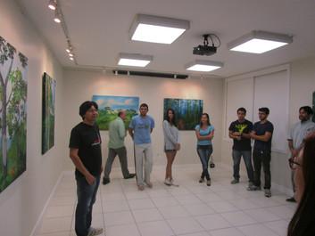 Abertura da Exposição Dentro da Mata em Niterói/RJ