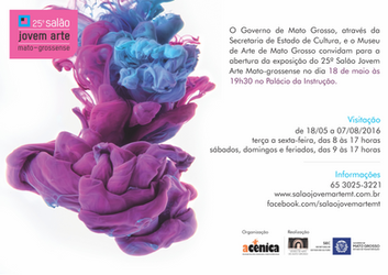 Convido  para abertura do Salão Jovem Arte Mato Grosso