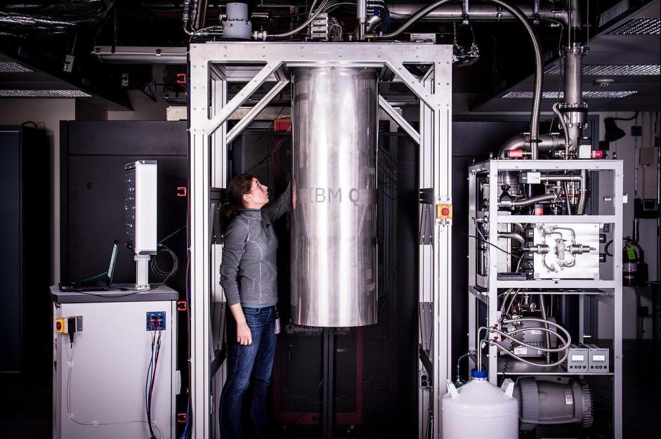 Refrigerator for quantum computers at IBM