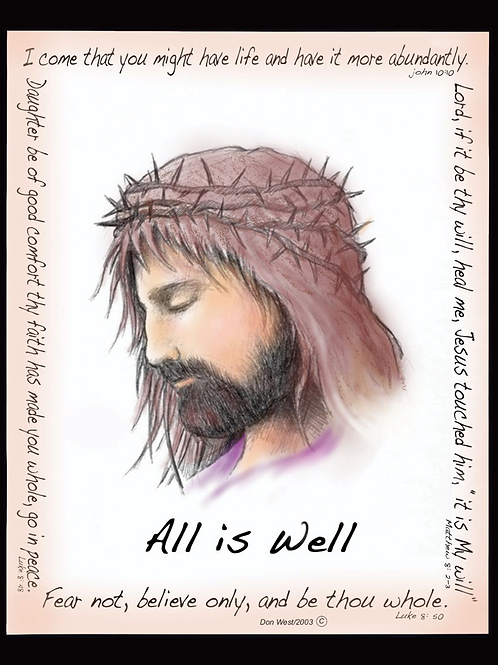 All is Well - Set of 10 Postcards