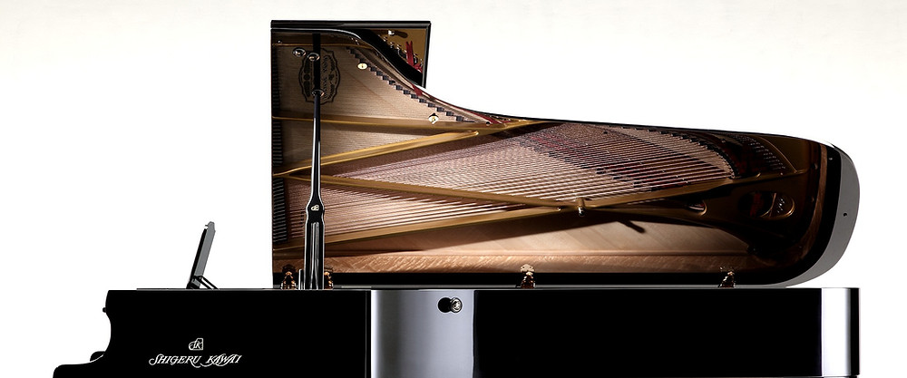 Shigeru Pianos among the finest in the world